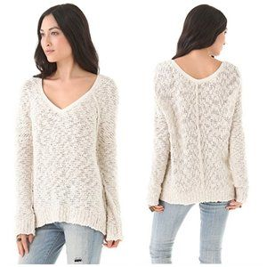 Free People Songbird Pullover V-neck Sweater XS